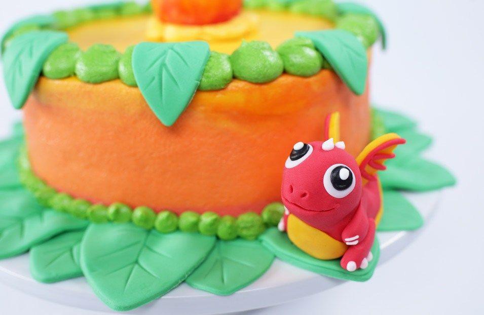 Dragon Fruit Dragonvale Cake