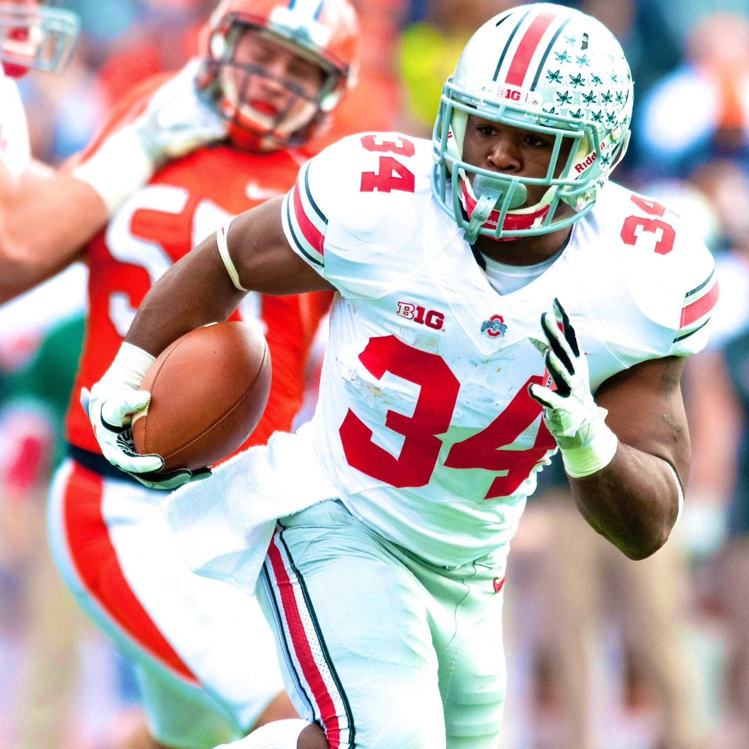 When Games Get Tougher Ohio State Will Lean on Carlos Hyde