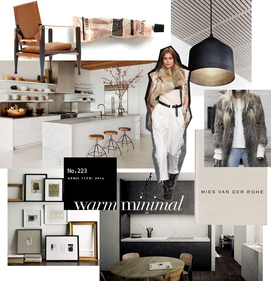 Warm Minimal by Nam Dang Mitchell | Interior design boards ...