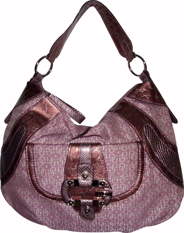 a436172c7 Amazon.com: Guess Purse Handbag Tough Logo Mauve: Shoes   My style ...