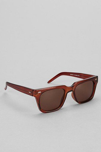 Spitfire Lovejoy Square Sunglasses - Urban Outfitters