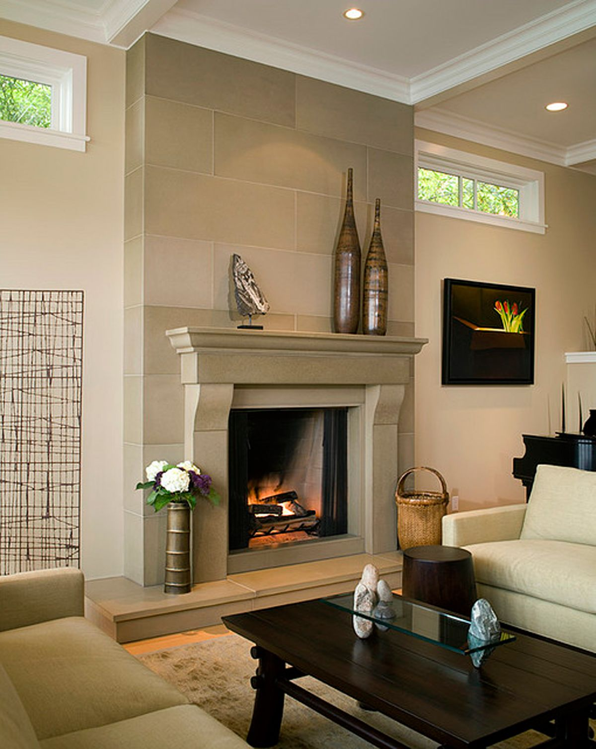1000+ Images About Fireplace Tile Ideas On Pinterest | Fireplace