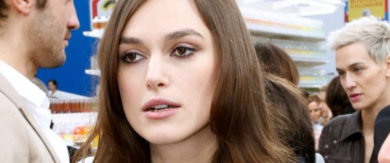 Keira Knightley Is Freaking Us Out With Her Optical Illusion Dress