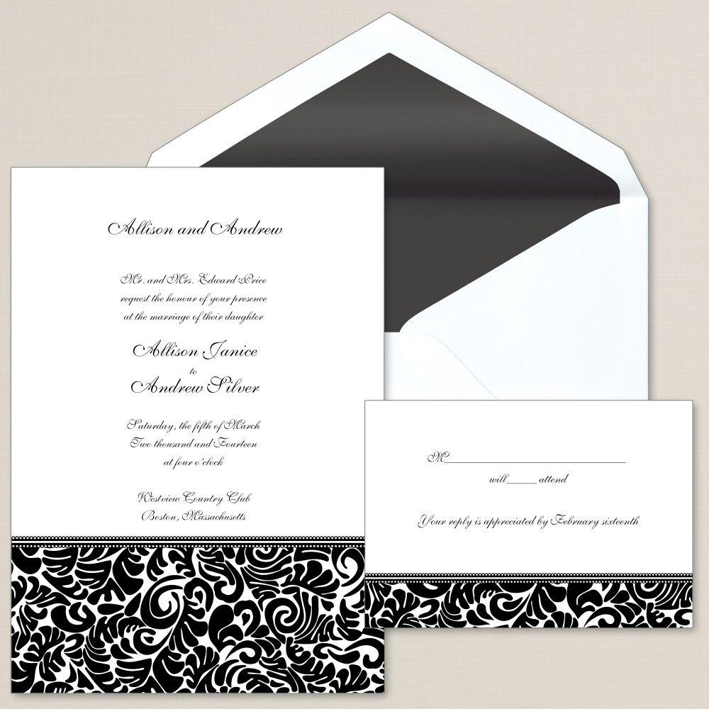 At Last Wedding Invitation | #exclusivelyweddings ...
