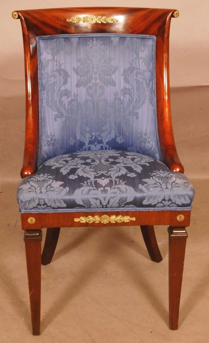 French Empire Style Dining Room Chairs