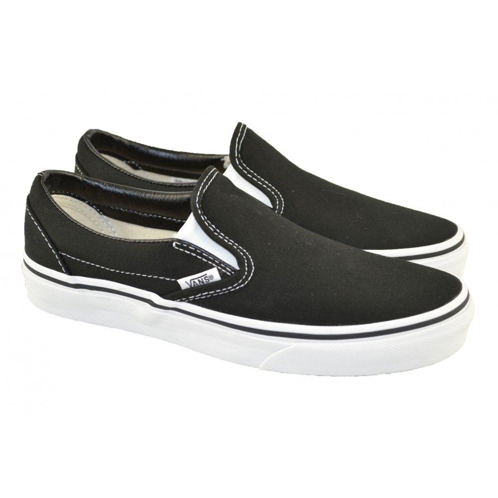 ir de compras Labe Frustración  Canvas Classic Slip On negra VANS | Envío GRATIS! | MarlosOnline | Vans,  Slip on, Vans classic slip on sneaker