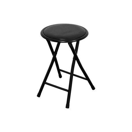 Admirable Mainstays Vinyl Folding Stool Black Products In 2019 Spiritservingveterans Wood Chair Design Ideas Spiritservingveteransorg