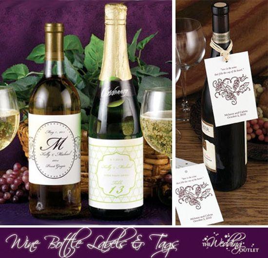 Beautiful Wine Bottles For Wedding Favors Gallery - Styles & Ideas ...