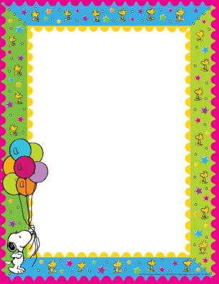Peanuts Birthday Computer Paper | Eureka School #EurekaDecor ...