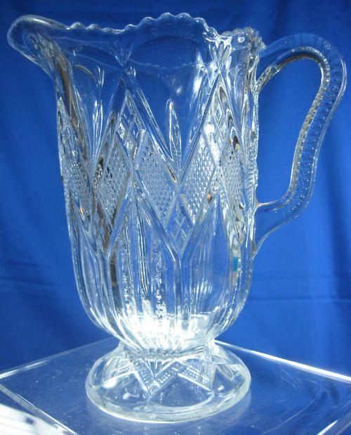 EAPG Pattern Glass 1850-1910, Glassware, Glass, Pottery