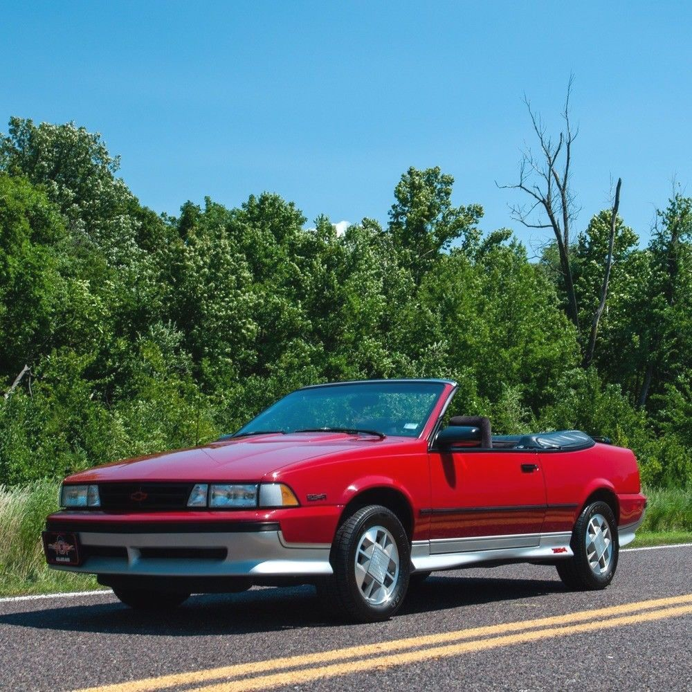 1989 Chevrolet Cavalier Z24 Convertible Ad Cars