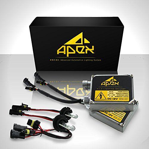 Introducing 55w Apex H13 9008 Low High Halogen Lowbeam Xenon Highbeam Halogen Xenon Hid Conversion Kit 6k 6000k Di Chevrolet Volt Bright Headlights Ballast