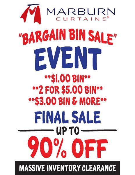 Massive Inventory Blowout Sale Going On Now In Store Only