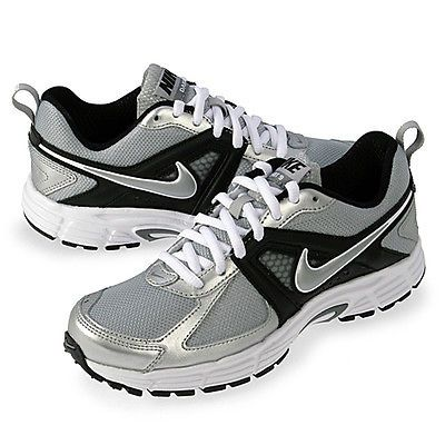 fe9add1b6 Nike Dart 9 Gs Big Kids 443396-002 Silver Athletic Shoes Boys Youth Size 3.5