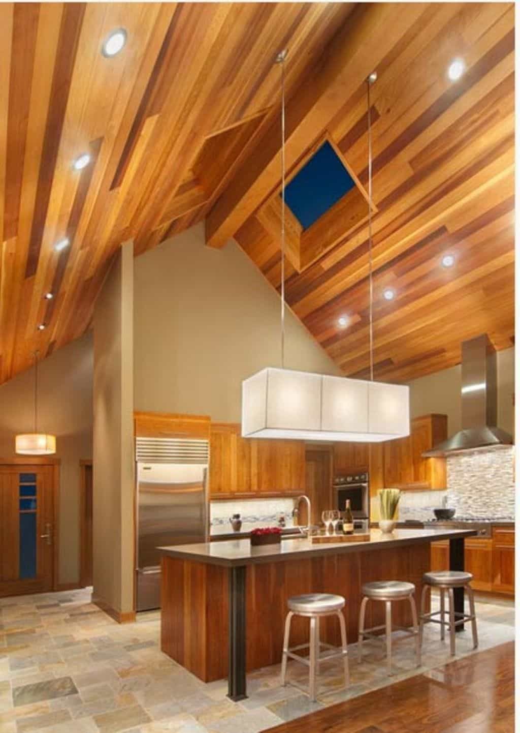 Vaulted Ceiling Lighting Fixtures With
