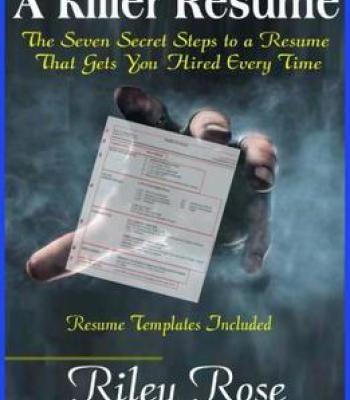 A Killer Resume PDF Business Pinterest