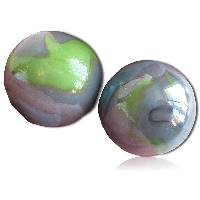 Custom 1 3 8 Inch 2 Huge Size Round Glass Marbles W Etsy Glass Marbles Basket Fillers Round Glass