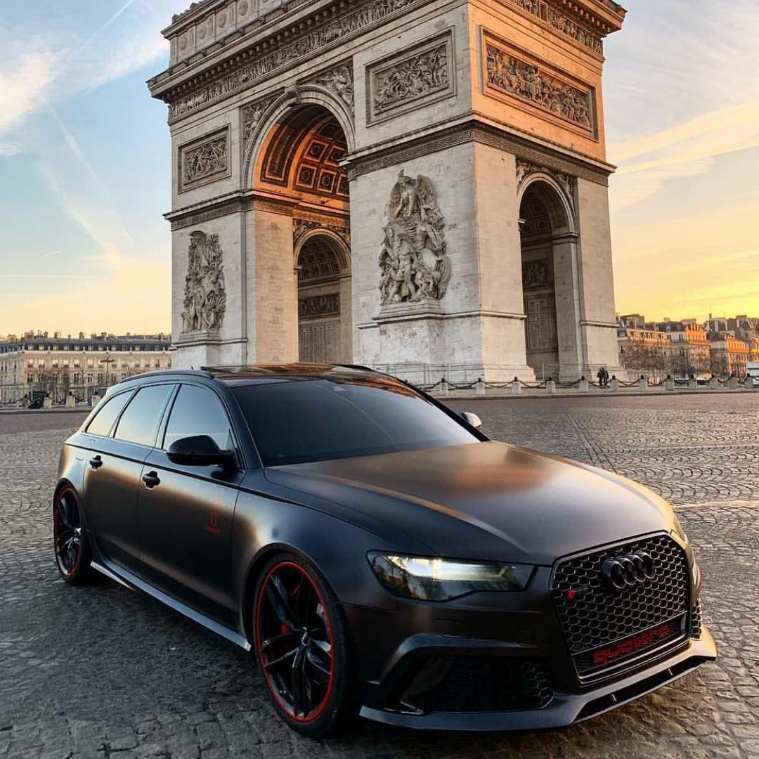 Rs For Luxury Cars: Murdered Out RS6 💀 #supercar