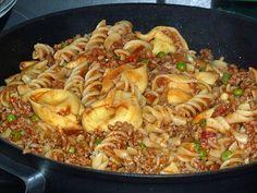 Tortellini - Hackfleisch - Pfanne (Rezept mit Bild)   Chefkoch.de