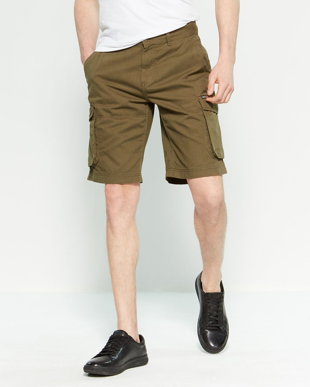 3261450322 Buffalo David Bitton Hakeem Twill Woven Cargo Shorts | *Apparel ...
