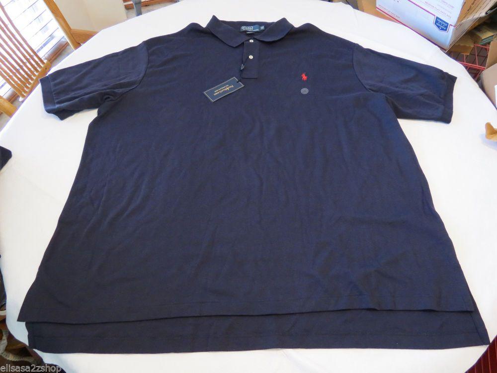 Men's Polo Ralph Lauren The interlock shirt soft 3XLB Big 4451241 BT BNT03 navy #PoloRalphLauren #PoloRugby