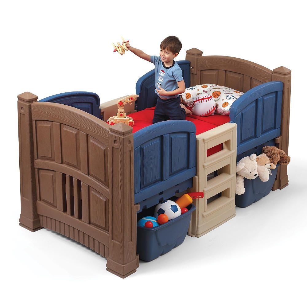 Step2 Boy S Loft Storage Twin Bed Step2 Toys R Us Kids