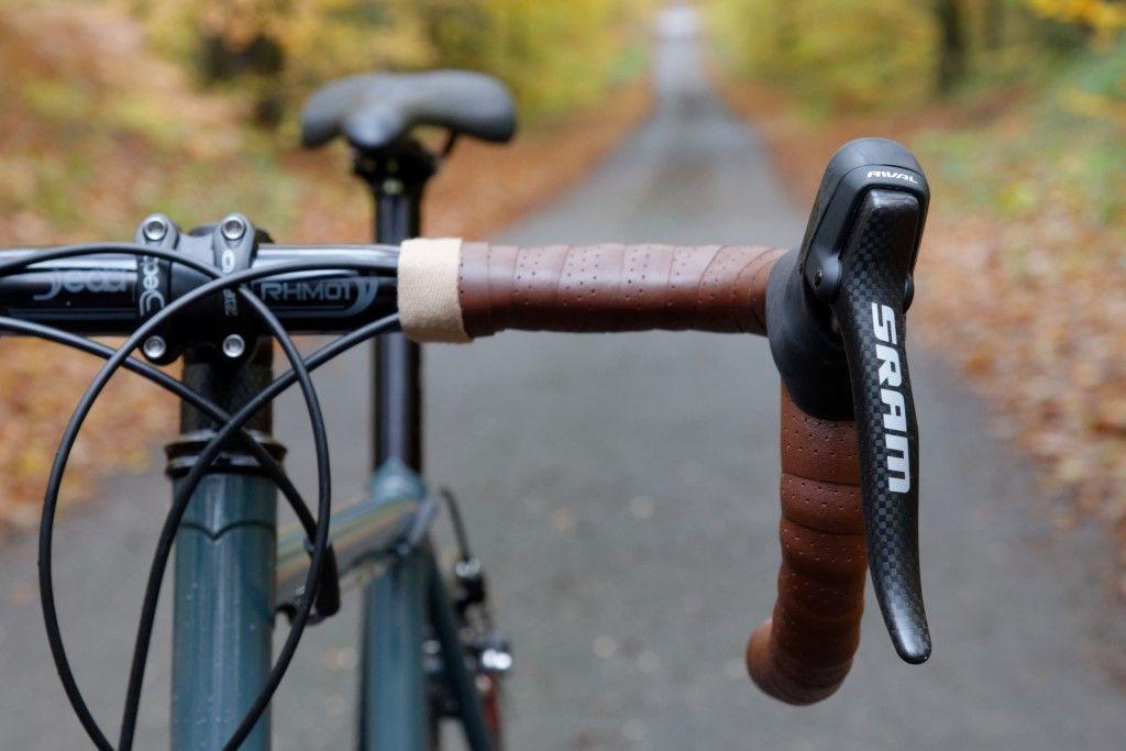 my new road bike handmade in Columbus Life & Spirit steel during an internship at OTM Bikes in Copenhagen