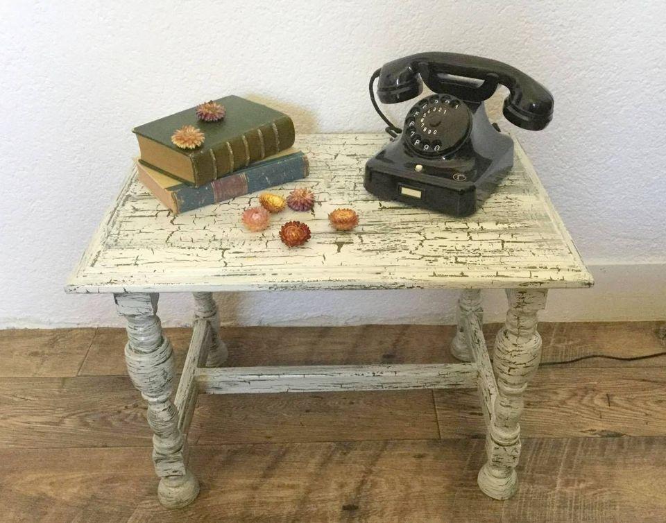 Tischchen Shabby Chic Stilmöbel Bauernmöbel Aus Groß Gerau