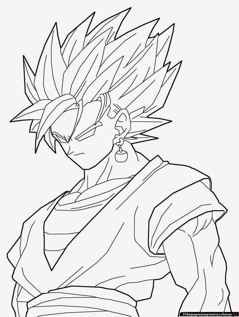 Resultado De Imagen Para Dibujos De Goku Dragon Ball Art Dbz Drawings Coloring Book Set
