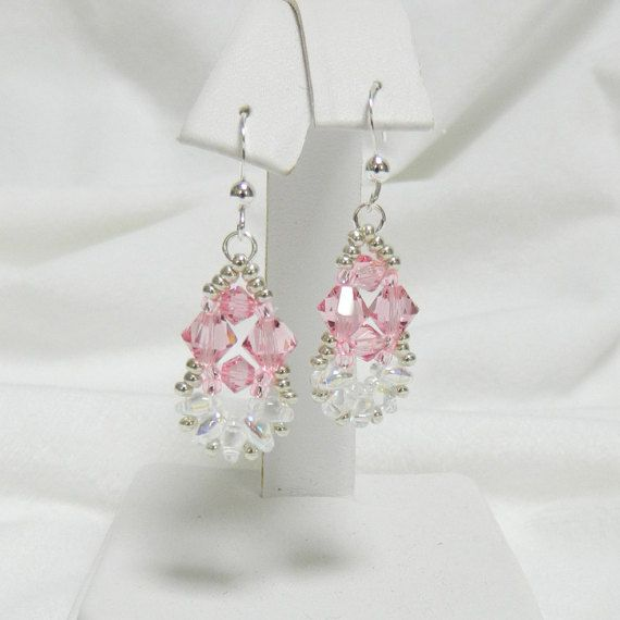 Hey, I found this really awesome Etsy listing at https://www.etsy.com/listing/259510628/handmade-beaded-swarovski-earringsbeaded