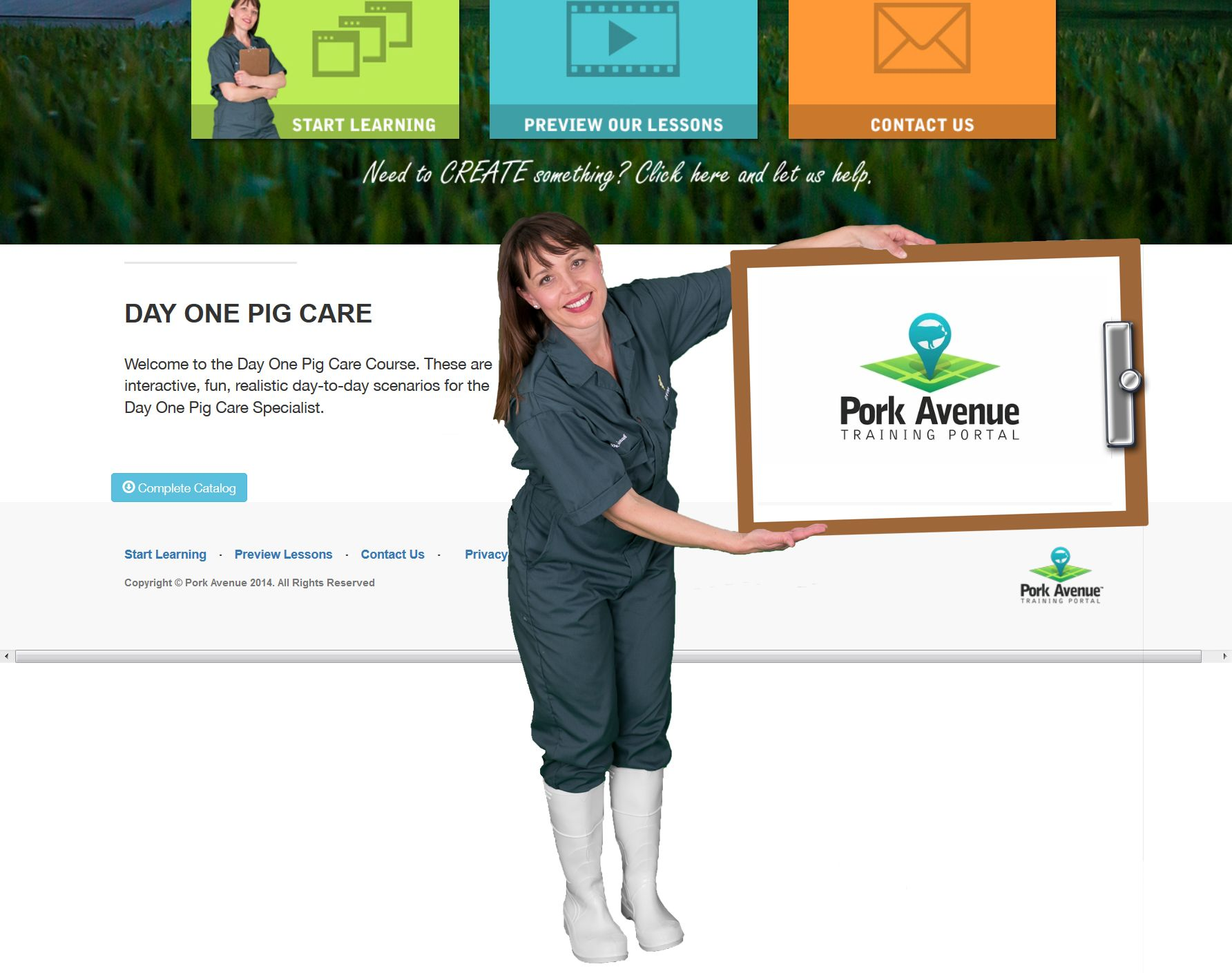 Incredibly Honored. Dr. Sarah prefers our Pella Vet Green
