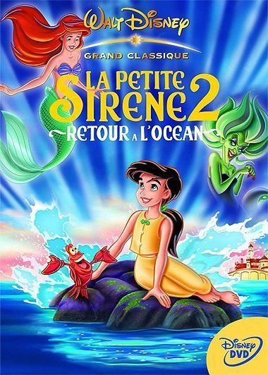 La Petite Sirène (film, 2013) : petite, sirène, (film,, 2013), Petite, Sirène, Retour, L'océan, Little, Mermaid, Animated, Movies, Characters