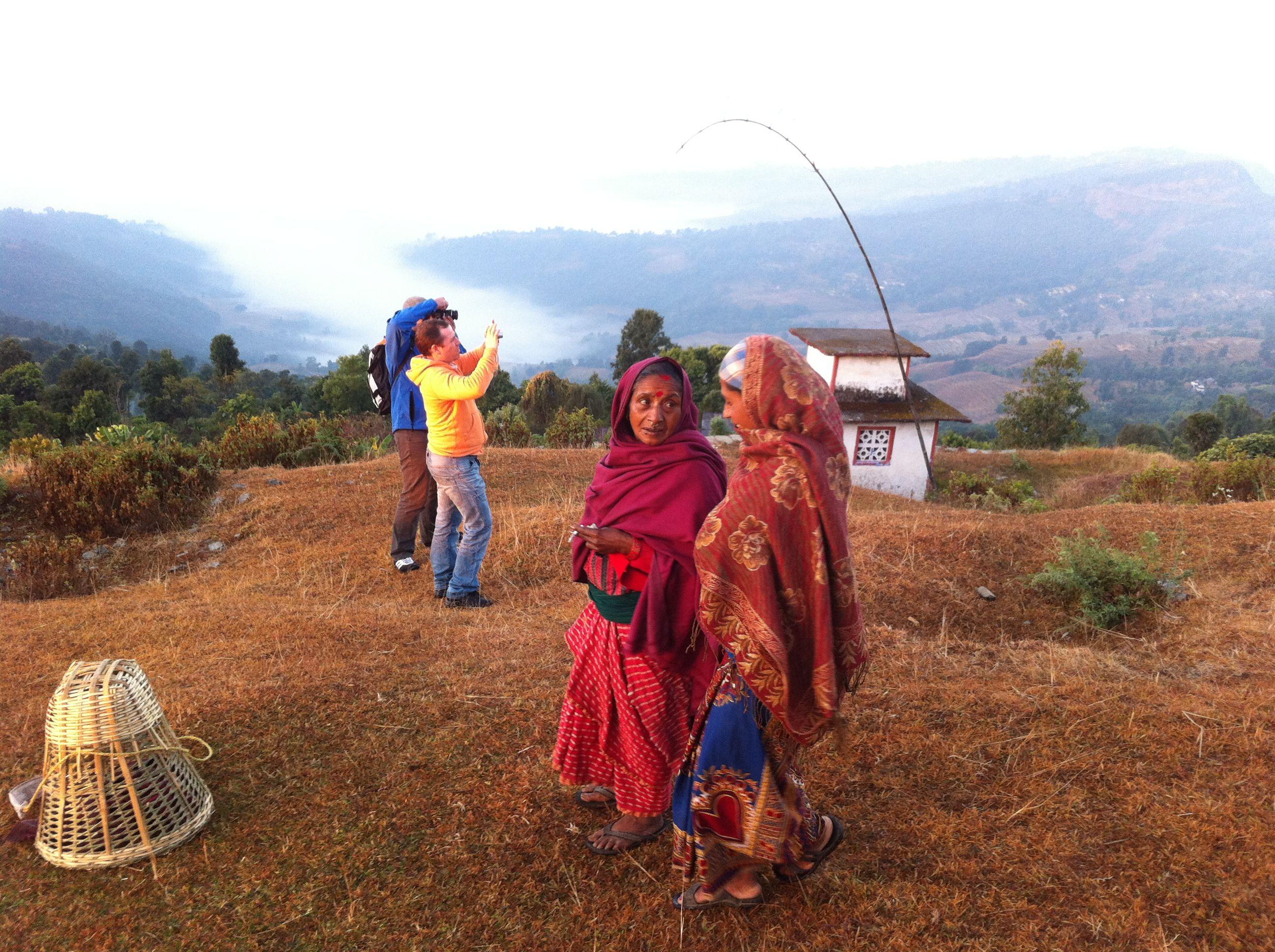 Un bon moment au Népal