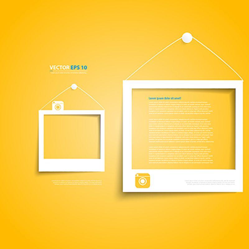 إطارات ناقلات أبيض على أصفر أيقونات بيضاء على الأيقونات الرموز الصفراء Png والمتجهات للتحميل مجانا Frame White Frame Textured Background