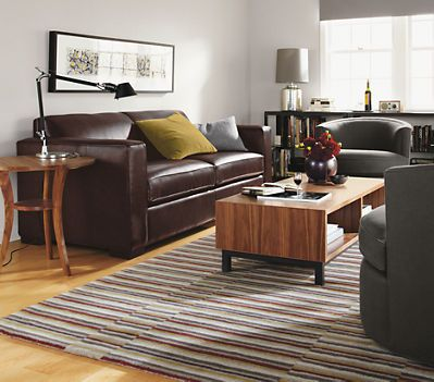 Ian Leather Guest Select Sleeper Sofas   Sleeper Sofas   Living   Room U0026  Board