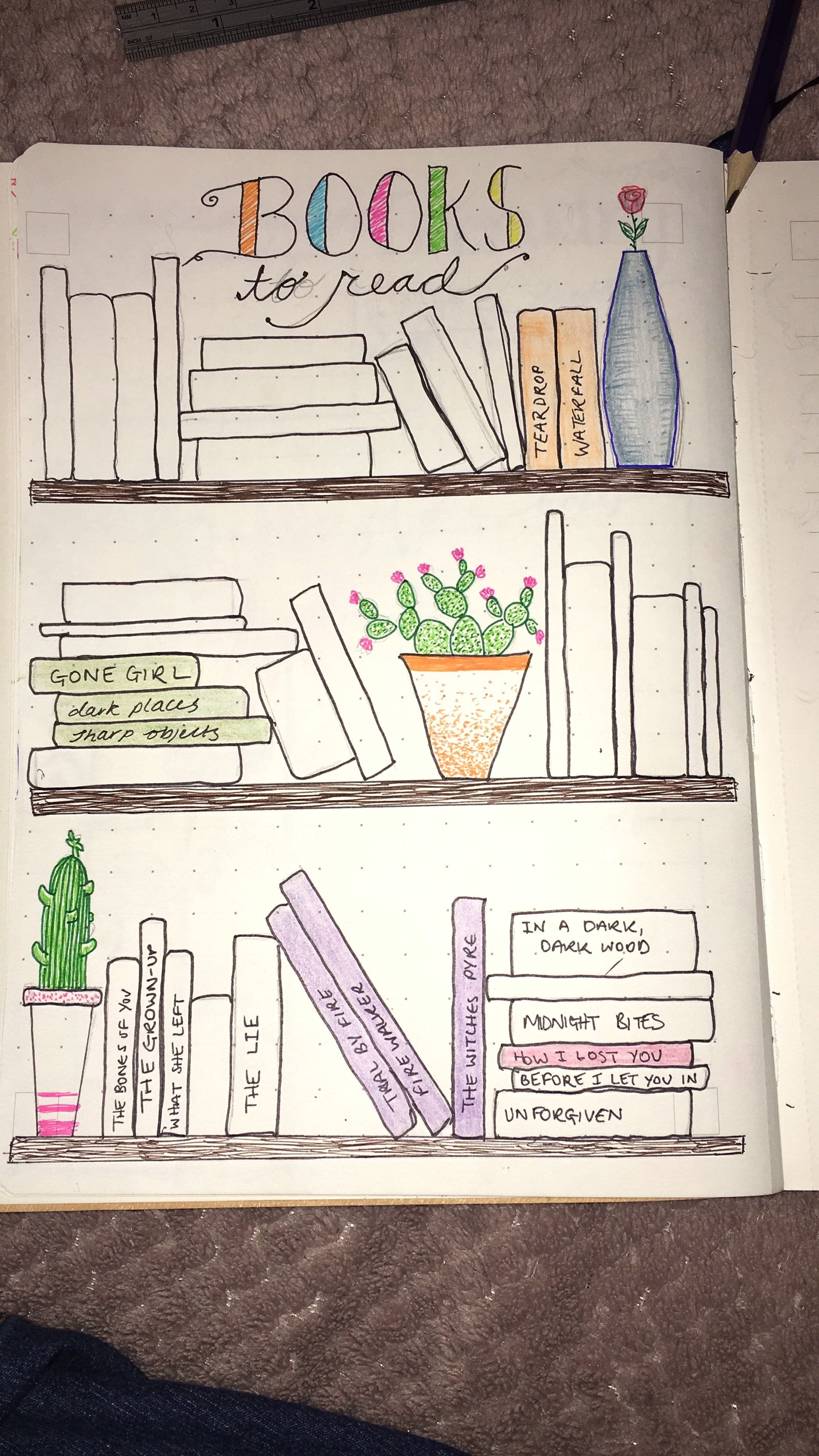 Books To Read Bullet Journal Layout Bullet Journal Books Books To Read Bullet Journal Bullet Journal Book List