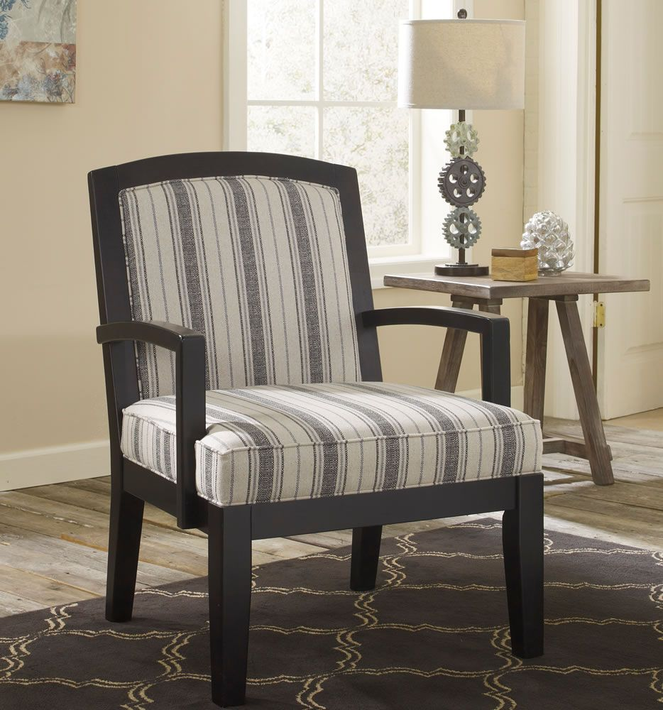 Contemporary Accent Chair With Arms Living Room