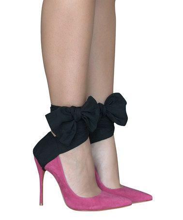 Look at this #zulilyfind! Black Tie Affair Shoe Charm #zulilyfinds