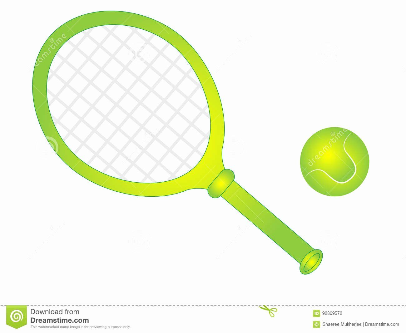 Tennis Ball Coloring Page Awesome Cartoon Vector Tennis Racket With Tennis Ball Stock Vector Tennis Ball Tennis Color