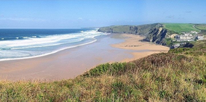 Watergate Bay, South, England, Europe