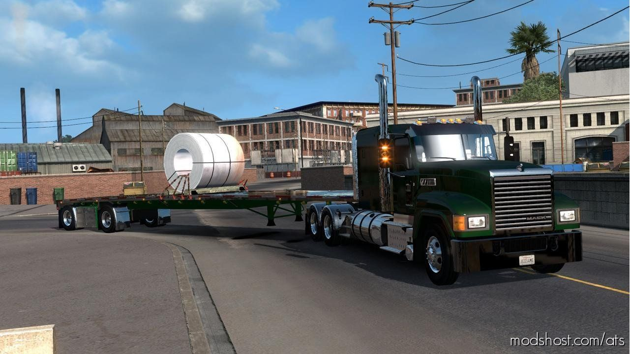 Download Custom Wilson Flatbed Ownable 1 36 X For American Truck