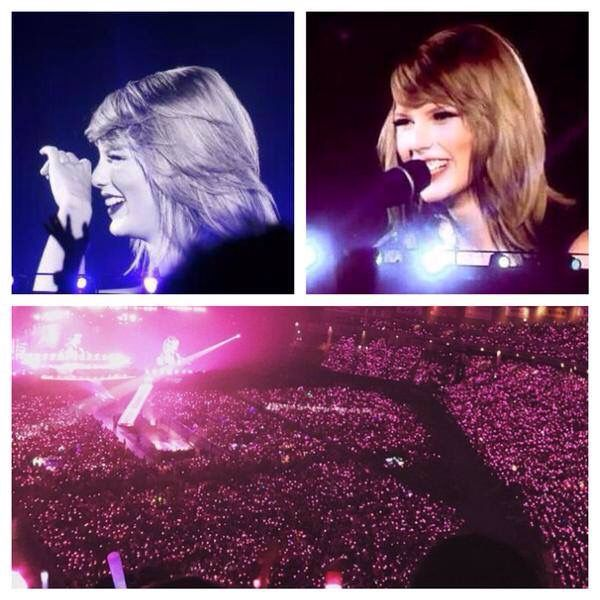 I was so happy! See you next time, Tokyo. Next up, we bring the whole '89 show to Rockin Rio in Vegas.... -Taylor Swift-