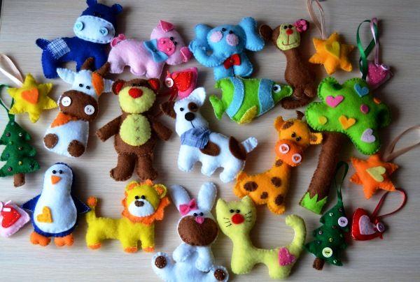 Игрушки звери своими руками 5