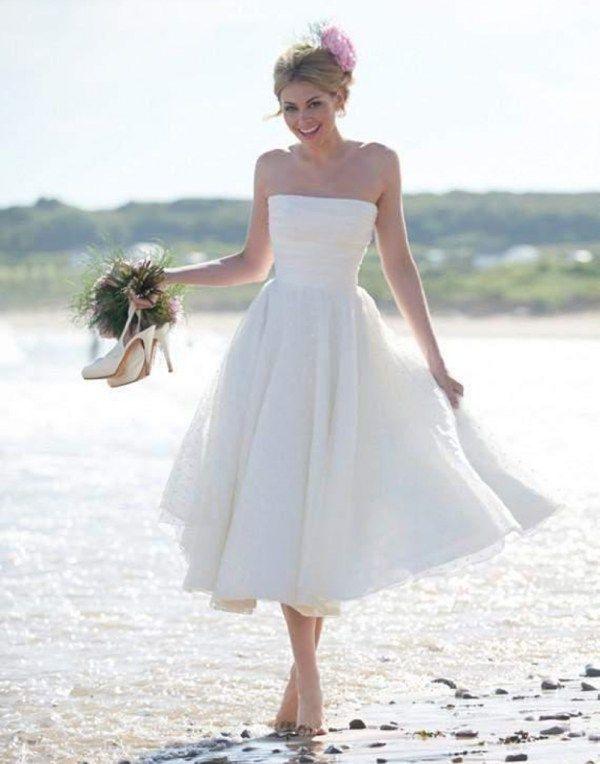 Porter une robe blanche pour un mariage