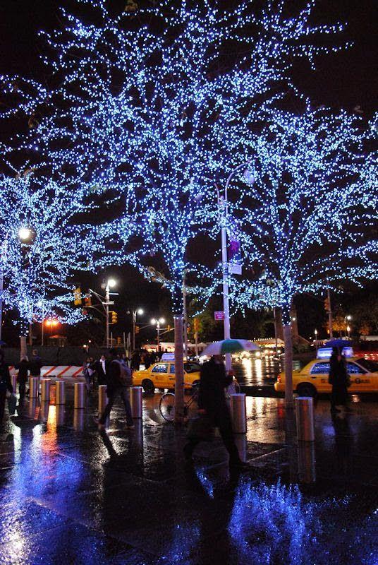 NYC holiday lights Night Shots Pinterest Christmas, New york