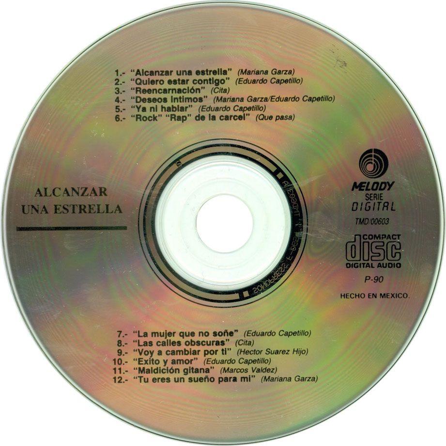 Caratula Cd de Bso Alcanzar Una Estrella | Musica y Audio ...