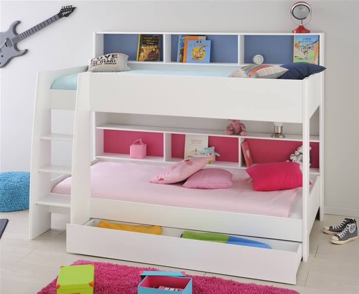 Tam Bunk Bed White Kids Avenue The Home And Office S