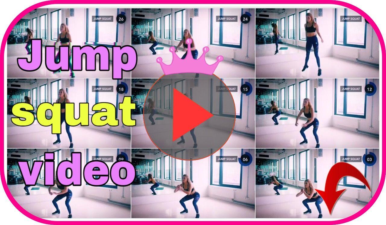 Jumb squat video ☝️