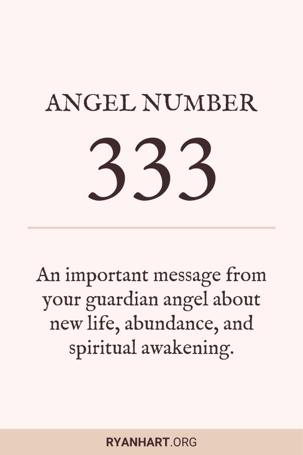 Angel Number 333 Meaning Symbolism Explained Angel Numbers Angel Number Meanings Number Meanings