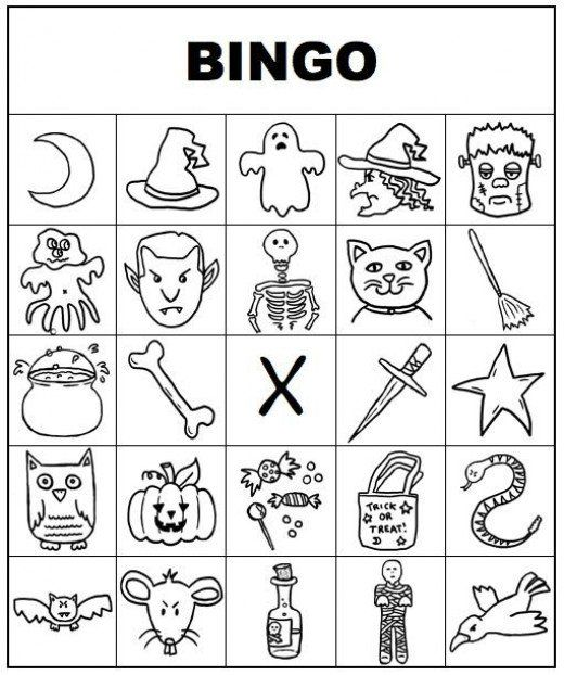 Free Printable Bingo Cards for Kids and Adults | Halloween bingo ...